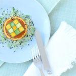 Starter: Tuna Tatare with Avocado-Mango-Salad