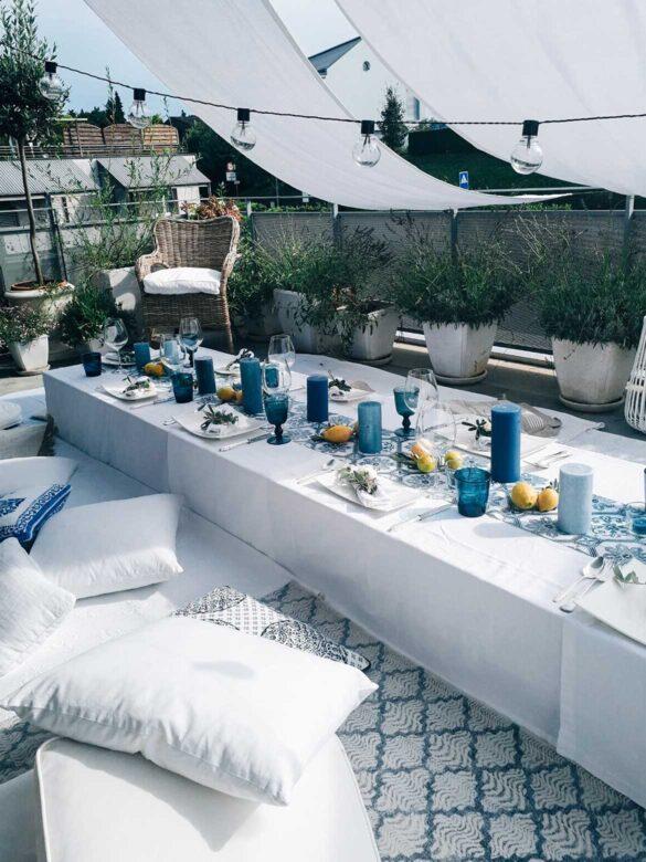 Table decoration Amalfi style | Eat Cook Dine