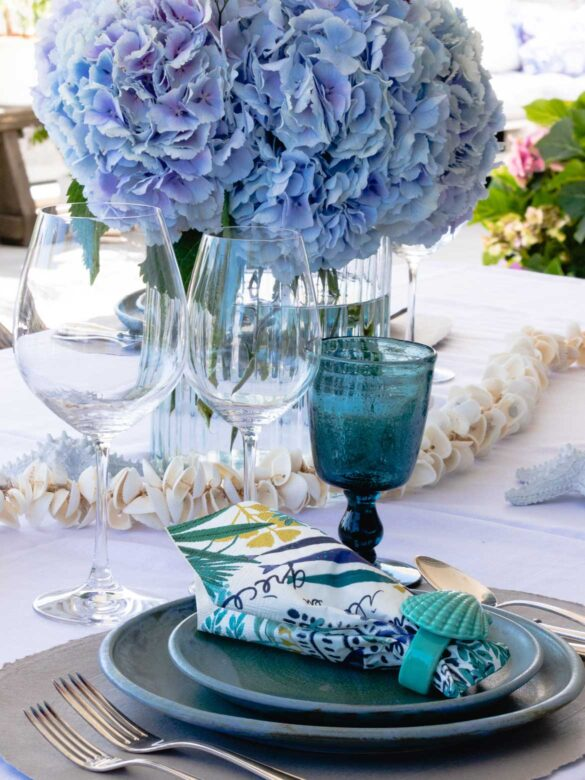 Table decoration marine style | Eat Cook Dine
